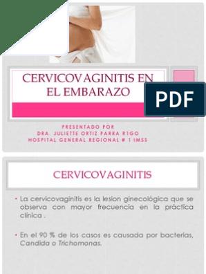 Candidiasis en el embarazo guia de practica clinica