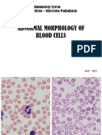 Abnormal Morphology of Blood Cells Reg His 2012
