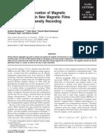 Magnetic Flux Distribution Holography