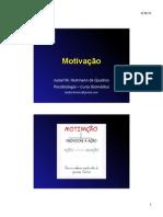 psicobio3b - motivação
