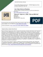 Chen_Takeuchi Yoshimis Asia as Method Lecture