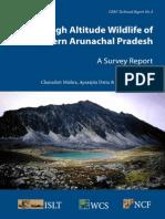 High Altitude Wildlife of Arunachal Pradesh