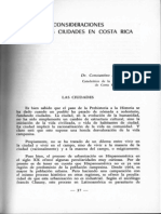 Algunas Consideraciones Sobre Las Ciudades en Costa Rica-Constantino Lascaris