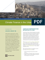 Climate Finance in the Urban Context