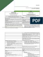 SAFCEC - Construction Regulation 2014 Comparison Document (NC)