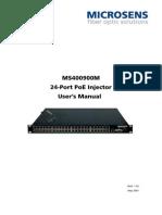 Microsens PoE Injector