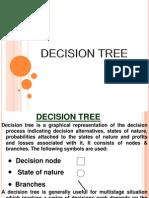 Decision Tree, EMV , Decision making Under Risk, Multistage decision making