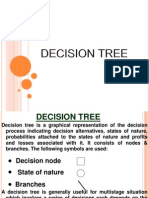Decision Tree, EMV , Decision making Under Risk, Multistage decision making