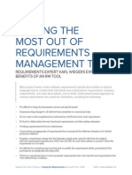 Wiegers Getting the Most Out of Requirements Management Tool