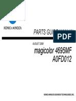 Service manual Konica Minolta MC 4695MF