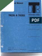ThermoKing Yanmar Overhaul Manual TK353ModelRD1