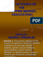 Amended Pma Code of Ethics