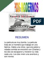 TIEMPOS MODERNOS (CHAPLIN) CIUDADANÍA 6º 2013-2014.ppt