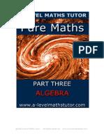 Pure Math Part 3
