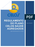 Regulamento do Plano CELOS Saúde Agregados