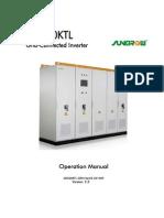 Invertor 500 kW SG500KTL