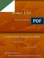 Proiect  IAC