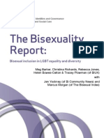 The Bisexuality Report