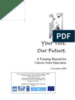 CVE Training Manual
