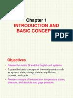 Chap 1 Intro to Thermodynamic