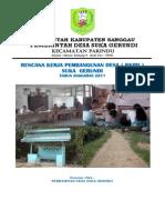 Rencana Kerja Pembangunan Desa ( RKPD ) Suka Gerundi 2010.pdf