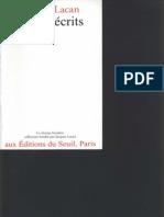 Jacques Lacan Autres Ecrits Le Seuil