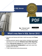 New Features in SQL Server 2014