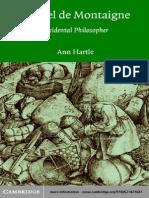 Ann Hartle-Michel de Montaigne_ Accidental Philosopher-Cambridge University Press (2003)