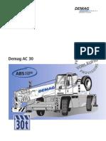 AC30 city Crane Information Sheet