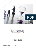 Timepaq User Manual