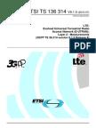 Ts 136314v090100p Layer 2 - Measurements 314