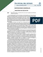 RD 99-2011 Regulación Enseñanzas Oficiales Doctorado