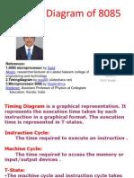 Timing Diagram 8085 Final