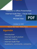 Training Treasurers Office IA 20091007