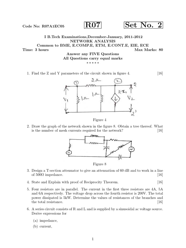 A Text Book Of Questions Series And Parallel Circuits Electrical Voltage Drop Circuit Impedance