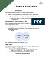 Configure Structural Authorizations