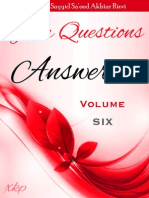 Your Questions Answered Volume 6