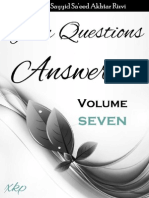 Your Questions Answered Volume 7