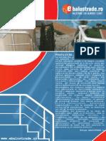 PROFILUX - Pliant Balustrade Din Aluminiu