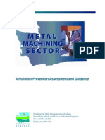 Machining_Pollution Prevention Assessment and Guidance