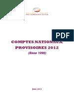 HCP02-Les Comptes Nationaux Provisoires 2012 (Base 1998)