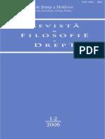 Revista de Filosofie Si Drept 2006 Nr.1-2