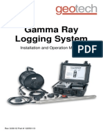 Geotech Natural Gamma Ray Logging System