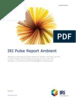 Pulse Report Ambient Q3 2013