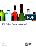 Pulse Report Alcohol Q3 2013