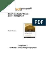 9781782172147_Citrix_XenMobile_Mobile_Device_Management_Sample_Chapter