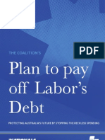 Plan to Payoff Lab Debt 2009