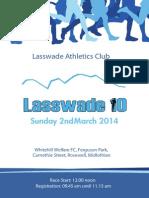 LAC Road Race 2014 Flyer