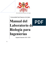 Manual de Biologia Para Ingenierias 2013-2014
