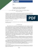 Informal Economy - Some Measurement Issues